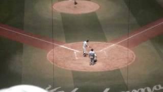 スーパー1年生 青木力斗(横浜高校) 2010 夏季神奈川大会 対桐蔭戦 2