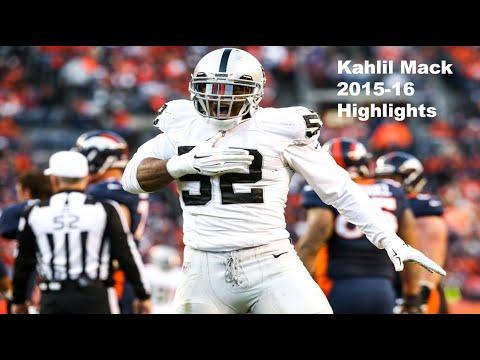2016 Pro Bowl LB/DE: Kahlil Mack Highlights - NFL 2015-16 HD