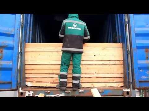 Устройство перегородки в контейнере