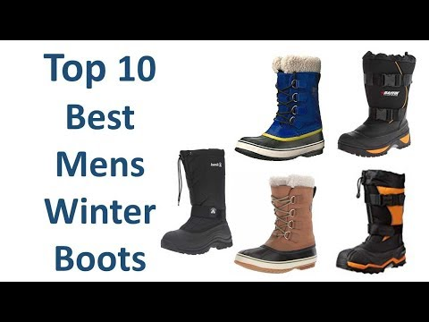 Best Winter Boots for Men || Best  Mens Winter Boots 2018/19