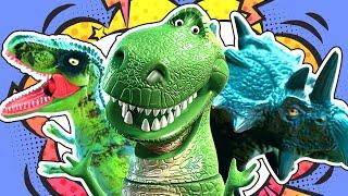 Динозавр Рекс и Амелькины Игрушки! Лучшие серии про Рекса!