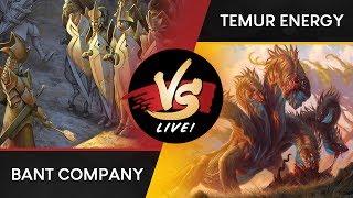 VS Live Bant Company VS Temur Energy Standard Throwback Match 1