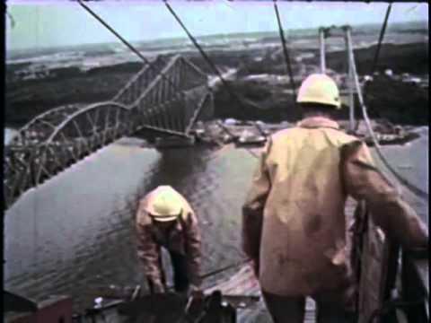 Capsule 5 - La construction du pont Pierre Laporte - Ville de Québec, Canada