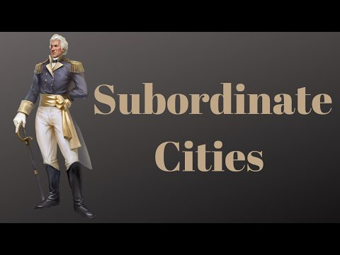 Evony The King's Return - Subordinate Cities