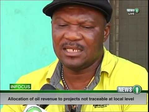 Oil revenue allocation to projects not traceable