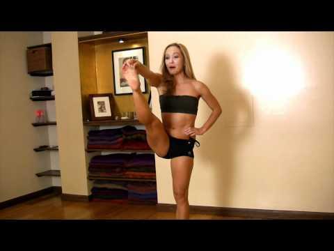 Strong Legs, Core and Balance in Ashtanga Yoga, Utthita Hasta Padangusthasana with Kino