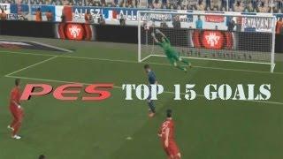 PES 2014 - Top 15 Goals [HD]
