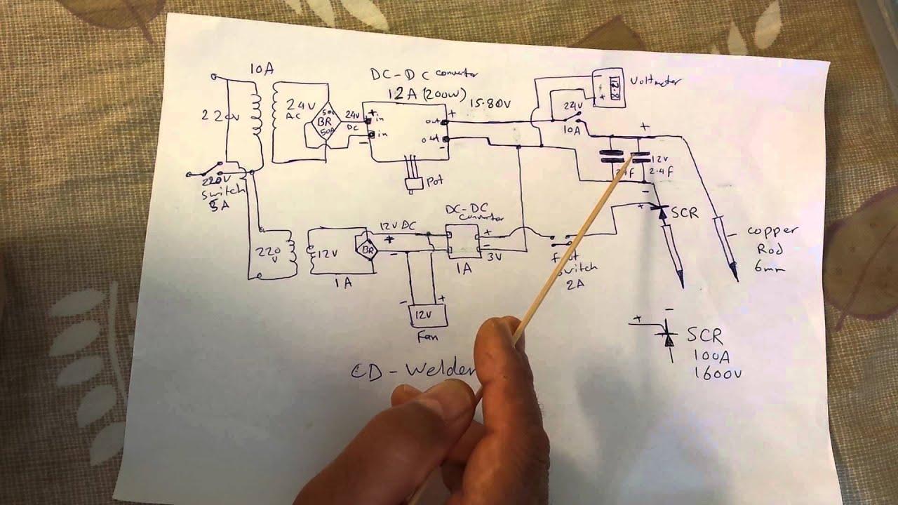 That\'s how I build my CD welder part 1 - YouTube