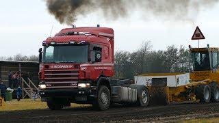 Truck Pulling Nation | Scania 114 & 124 - V8 Truckers | Pulling The Heavy Sledge | Truck Pulling DK