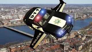 Police Flying Simulator Car Android Gameplay HD