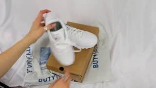 "Unboxing Reebok Classic Leather 50151 ""White / Candy Pink / Pink"""