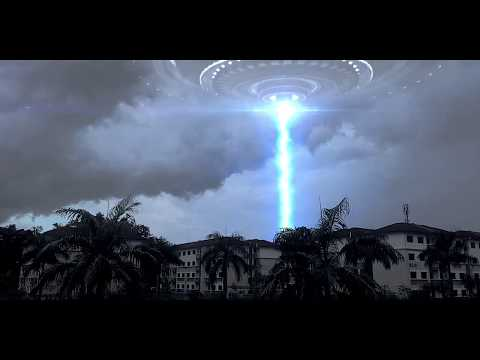 CGI UFO test with Element 3D