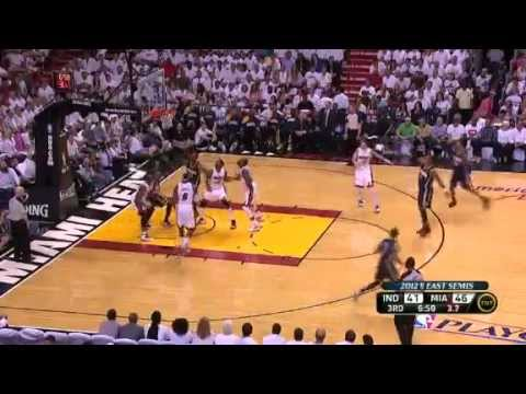 Miami Heat Vs Indiana Pacers Game 2 Highlights Nba Playoffs 2012