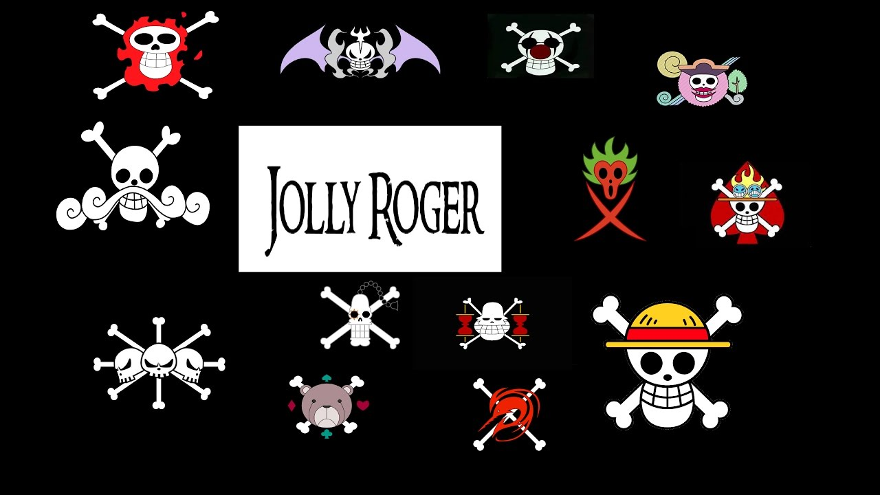 Jolly Roger di ONE PIECE - YouTube Official One Piece Jolly Rogers