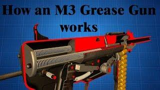 How an M3 Gręase Gun works