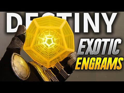 Destiny 2: GIGANTIC EXOTIC ENGRAM OPENING VIDEO! 10+ MINUTES OF LOOT AND EXOTIC LOOT!