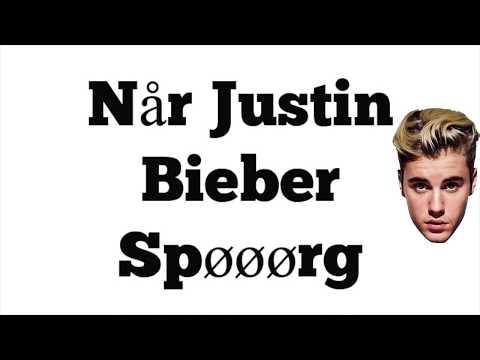 Fie Laursen - Justin (lyrics video)
