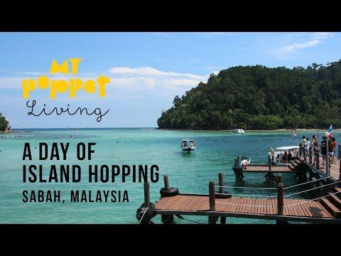 Island Hopping in Sabah, Tunku Abdul Rahman Marine Park MALAYSIA