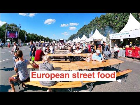 Ẩm Thực Đường Phố RiGa LATVIA Châu Âu. European street food.
