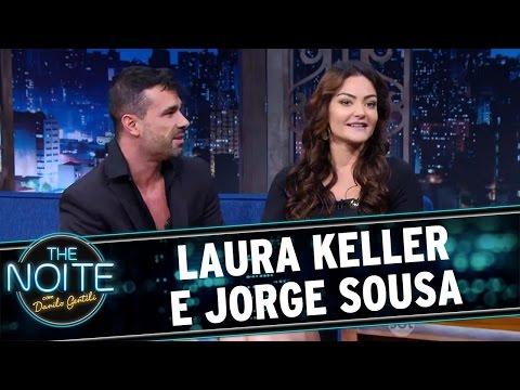 The Noite (25/07/16) Entrevista com Laura Keller e Jorge Sousa