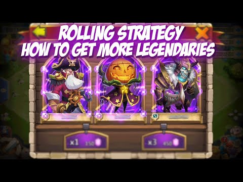 Castle Clash Rolling Glitch Legendary Hero