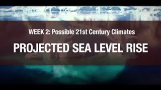 Projected Sea Level Rise