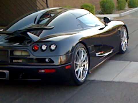 Koenigsegg Ccx Carbon Fiber Supercar Testing In Usa Youtube