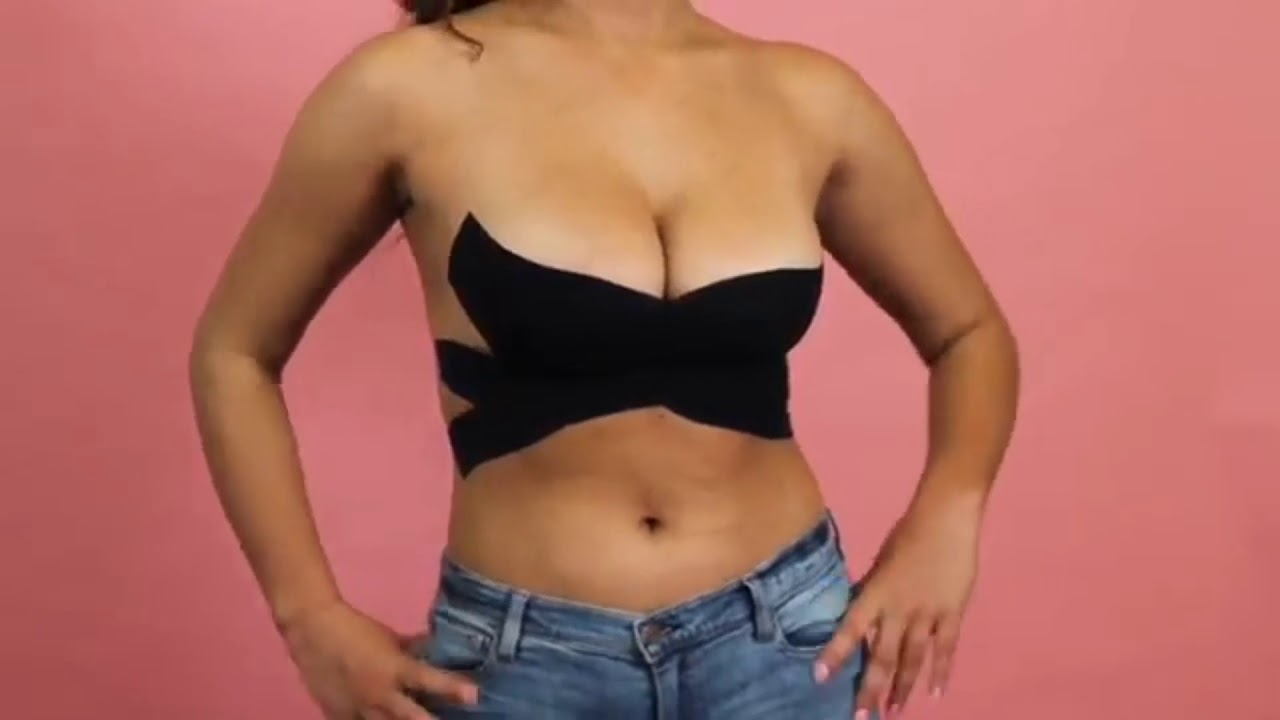 How to wear  comment porter le Push Up Boob Tape