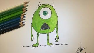 Yeşil Canavar Çizimi #12