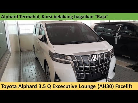 Toyota Alphard 3.5 Q Excecutive Lounge (AH30) Facelift Review - Indonesia