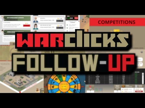 War Clicks - Follow-Up & Recent Updates