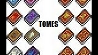 Terraria Tremor Mod Weapon Showcase - Tomes