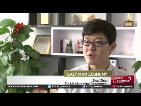 Booming O2O business model caters to China's lazy person economy
