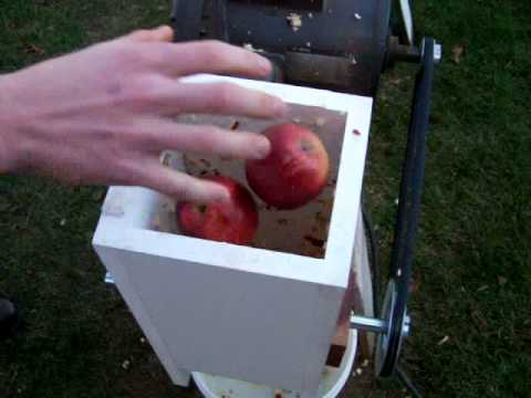 apple scratter grinder revised grinder design youtube