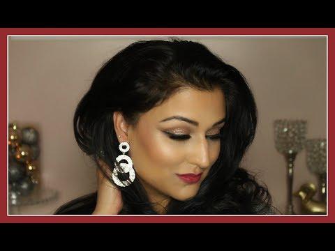 Chatty GRWM: Holiday Festive / New Year's / Indian Pakistani Wedding / Evening Makeup Tutorial