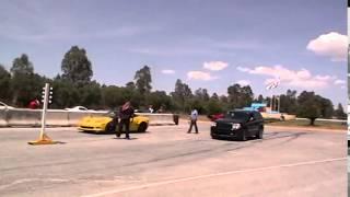 corvette zr1 vs nitrous jeep cherokee srt8 sc