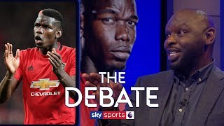 Why is Paul Pogba struggling for Manchester United this season?   The Debate   Bent and Goater