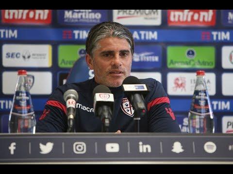 Cagliari-Lazio, la conferenza stampa pre-partita