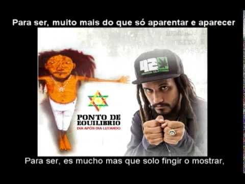 Novo dia - Ponto de equilibrio feat The Congos Subtitulado Portugues/Español