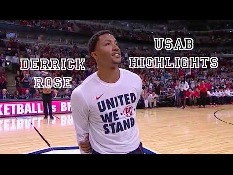 Derrick Rose | USA Basketball 2014 Highlights