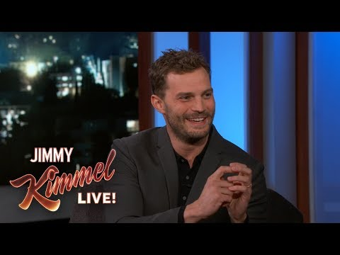 Jamie Dornan on His WeeBag & Dakota Johnson