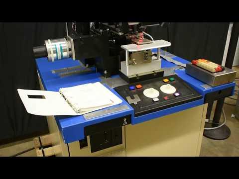 Testing An Automatic Gold Ball Wire Bonder, 1488L, Kulicke & Soffa