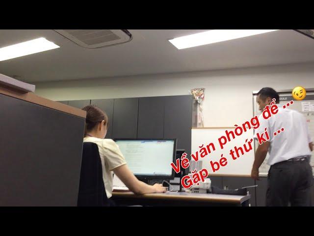 VLOG | Cuộc Sống Nhật Bản 152 : Về Gặp Bé Thư Kí Lấy Tiền Hỗ Trợ Đi Lại ở Nhật và Cái Kết