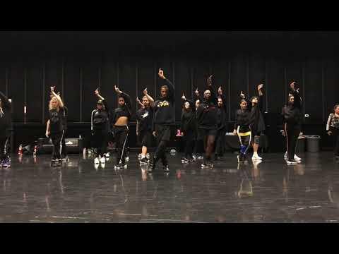 [Rain on me – Lady Gaga; Ariana Grande] choreography mirrored