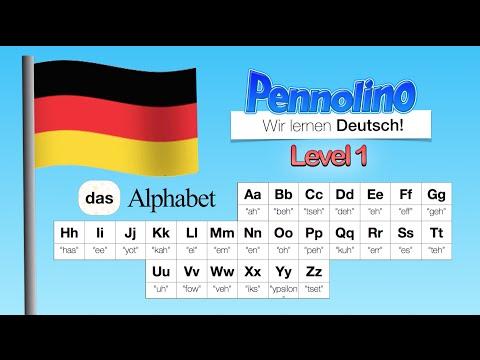 Pennolino! DEUTSCH Lernen. Aussprache Pronunciation - Das Alphabet - ABC Bis Z. Learn GERMAN!