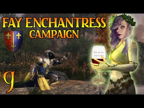 THE DWARF INVASION | The Fay Enchantress & Bretonnia Legendary Campaign #9 - Total War Warhammer 2