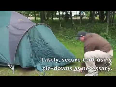 Cabellau0027s Alaskan Guide 4 Person Tent & Cabellau0027s Alaskan Guide 4 Person Tent - YouTube