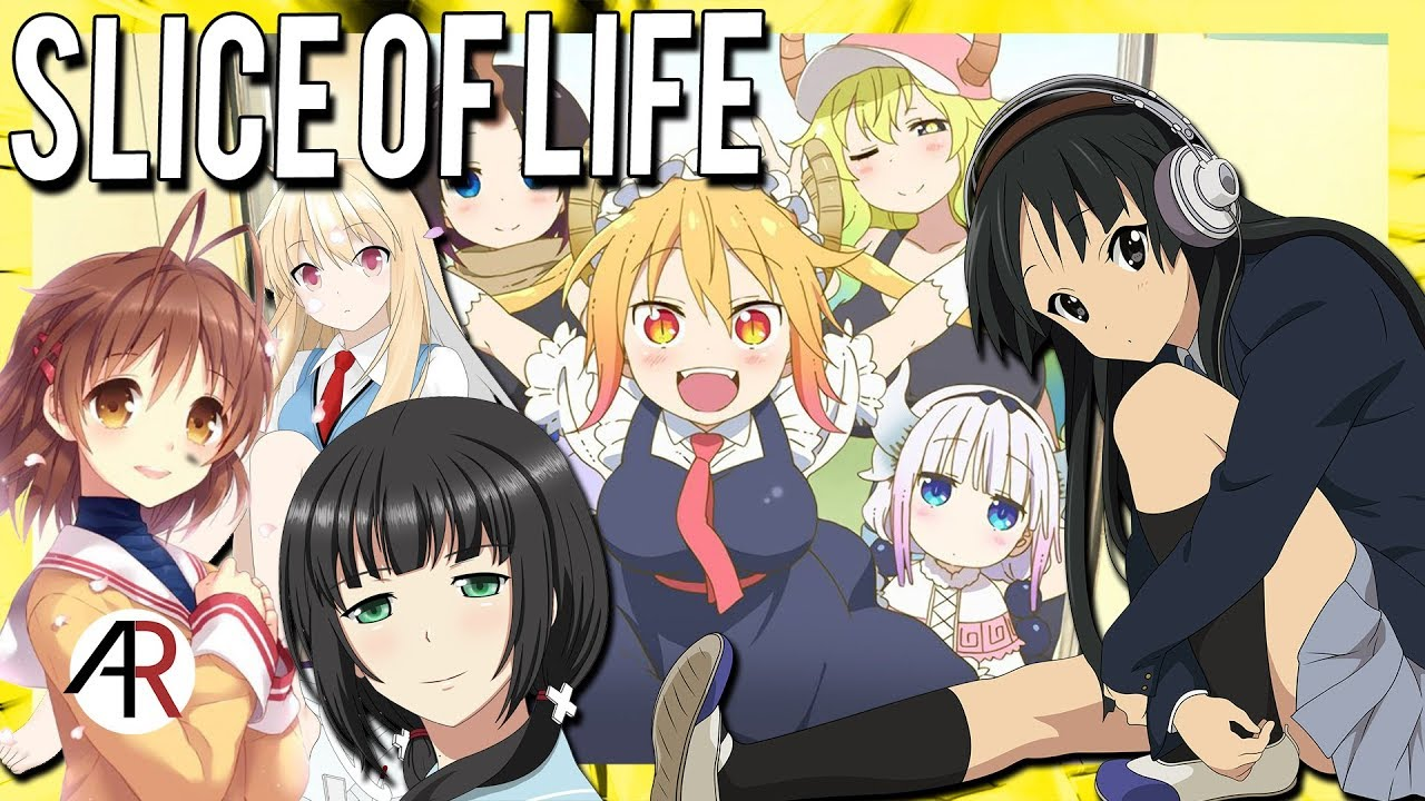 Slice of life genre anime chat cast