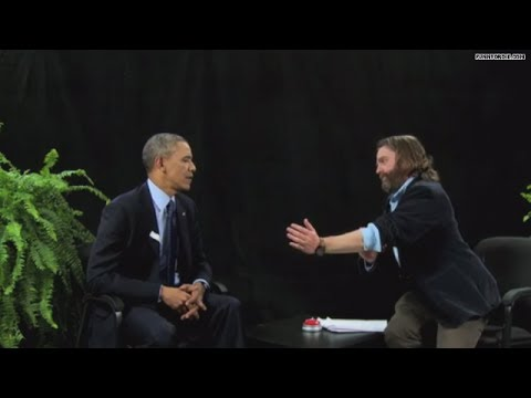Zach Galifianakis 'interviews' Obama