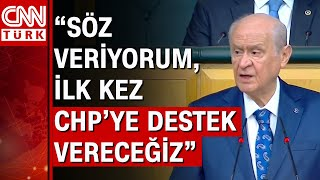 MHP Genel Başkanı Bahçeliden Soyluya destek İtibar suikastını kabul etmiyoruz